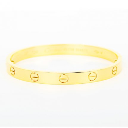 replique cartier love bracelet tournevis en or jaune à bas prix B6035516