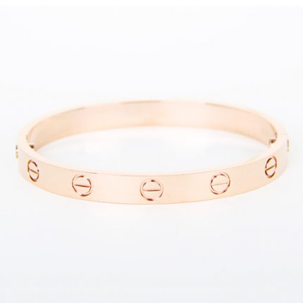 bracelet love cartier replique or rose tournevis en B6035616