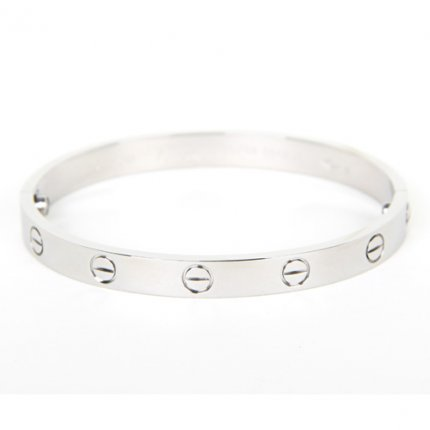 replique cartier love bracelet tournevis en or blanc B6035416